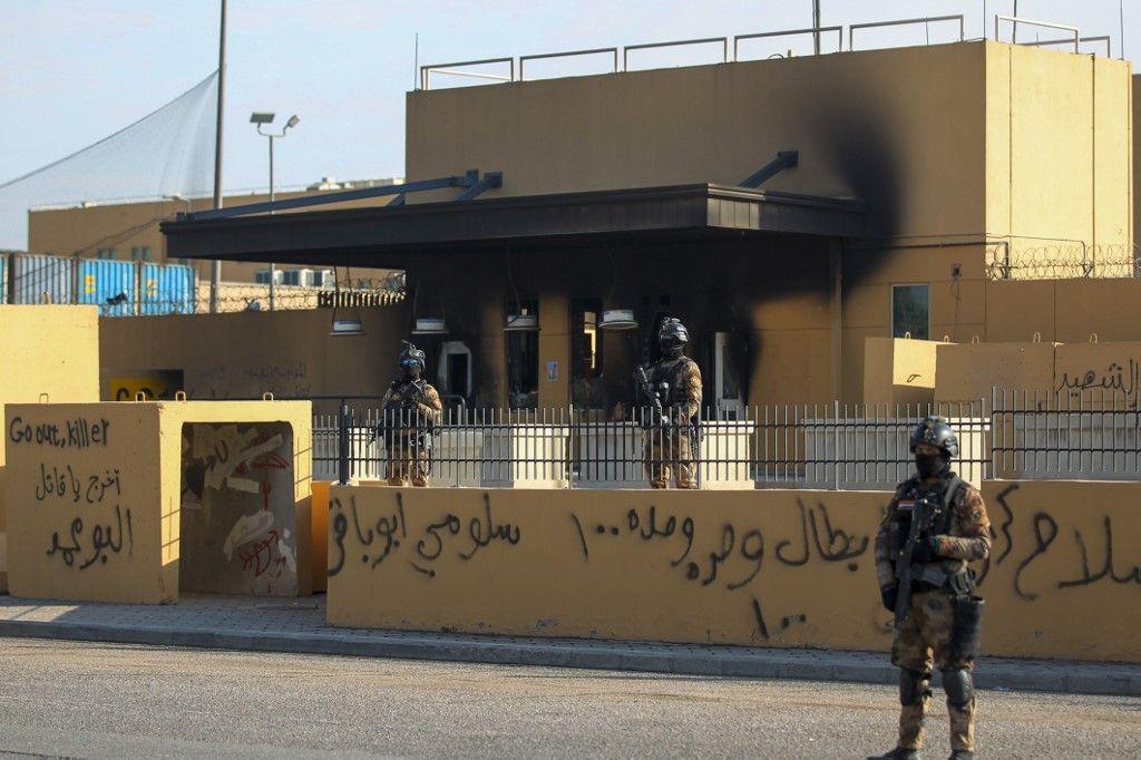 Mort du général Soleimani : la zone de l'ambassade américaine à Bagdad aurait été visée par une roquette