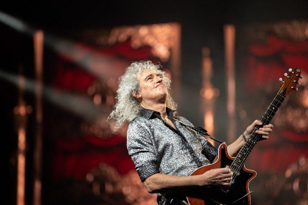 Le guitariste de Queen, Brian May.