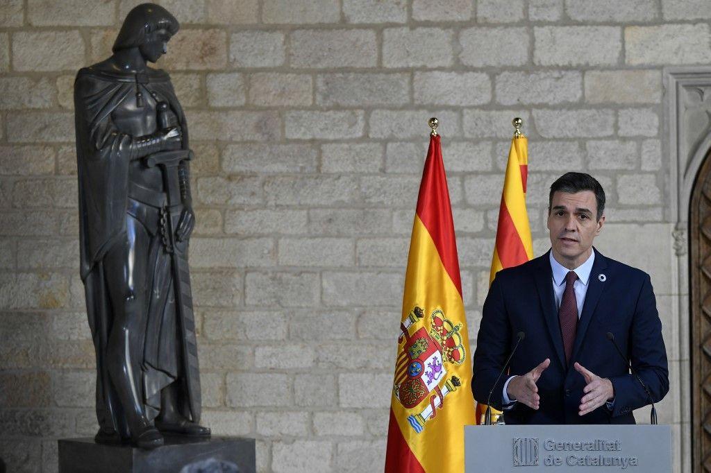 """Covid-19 : l'Espagne placée en """"état d'alerte"""""""