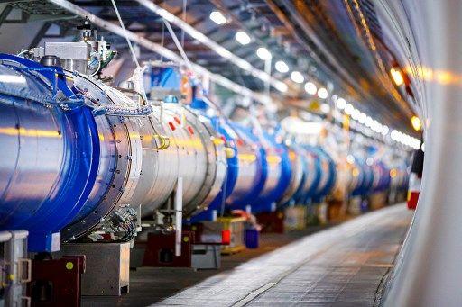 Le Grand collisionneur de hadrons du CERN.