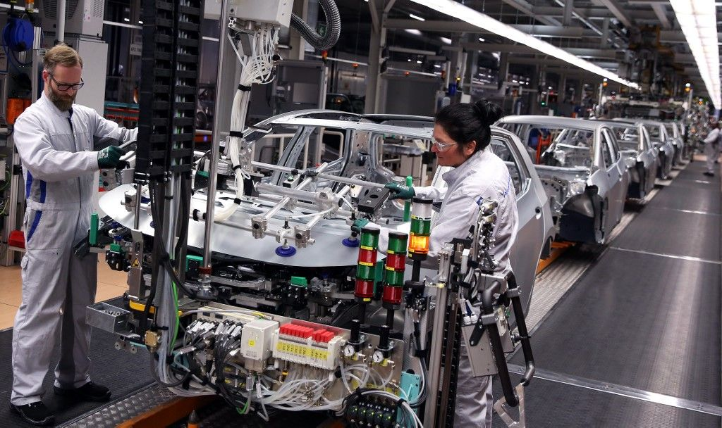 productivité Allemagne usine production crise activité relance covid-19 coronavirus pandémie