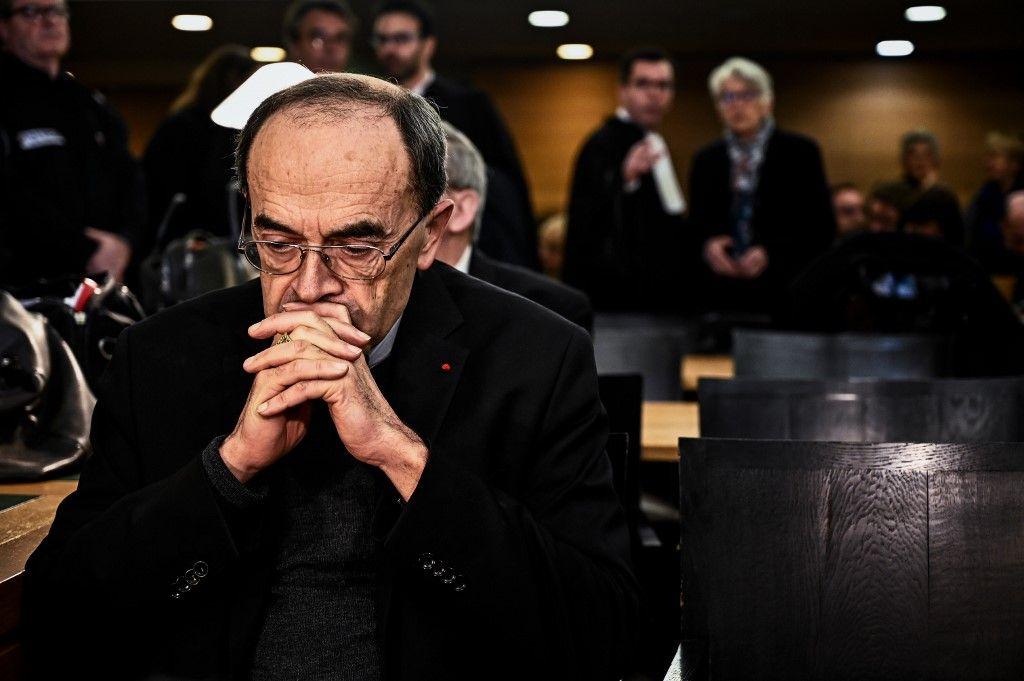 Le pape François accepte la démission du cardinal Barbarin