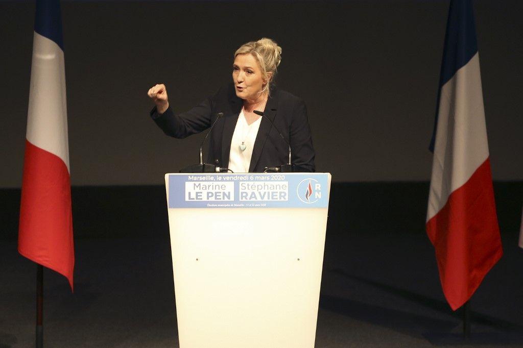Marine Le Pen place l'immigration au coeur de son programme des municipales