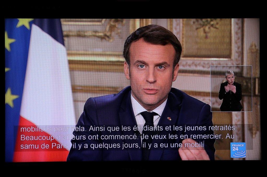 Coronavirus : L'allocution d'Emmanuel Macron a réuni plus de 36 millions de téléspectateurs