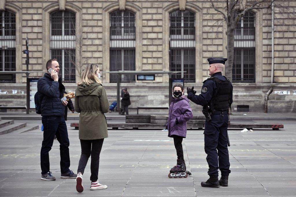 L'amende pour non-respect du confinement passe à 200 euros