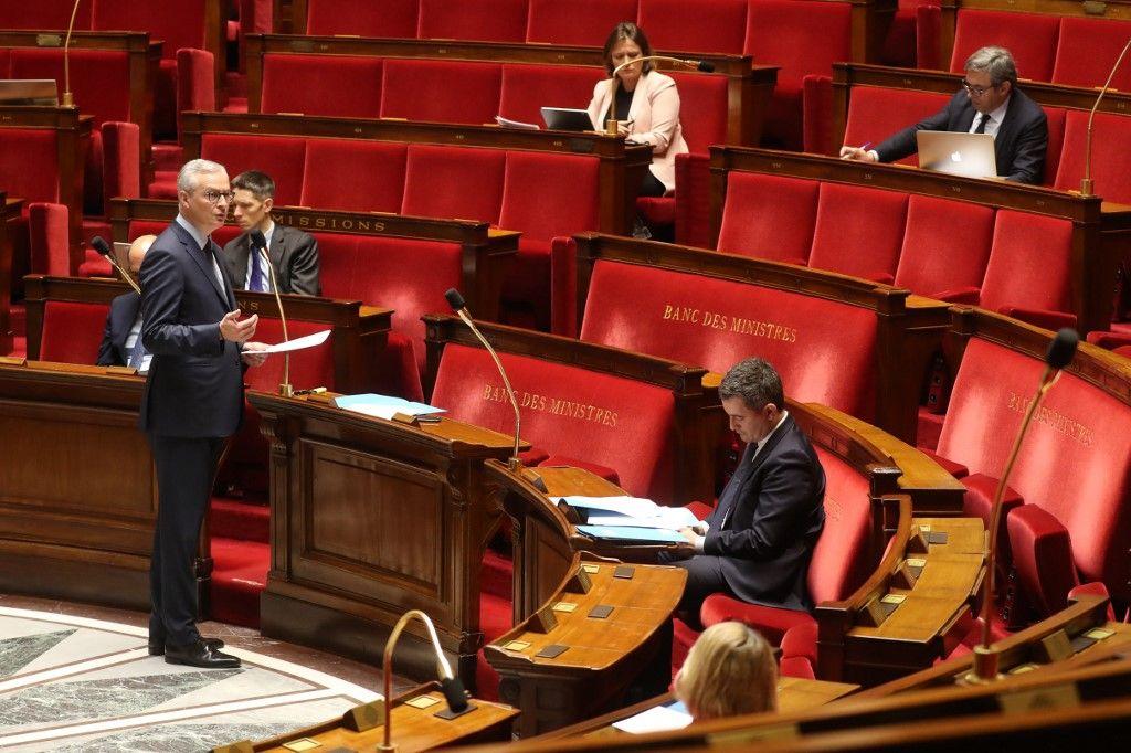 """Le Coronavirus menace la zone euro et """"l'avenir politique de notre continent"""", selon Bruno Le Maire"""
