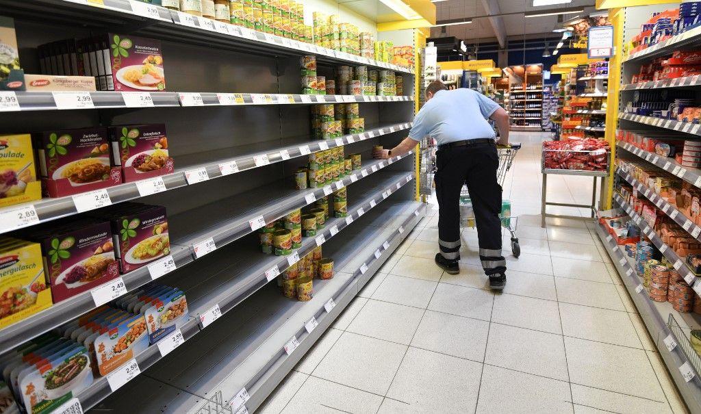 supermarché france pénurie confinement déconfinement