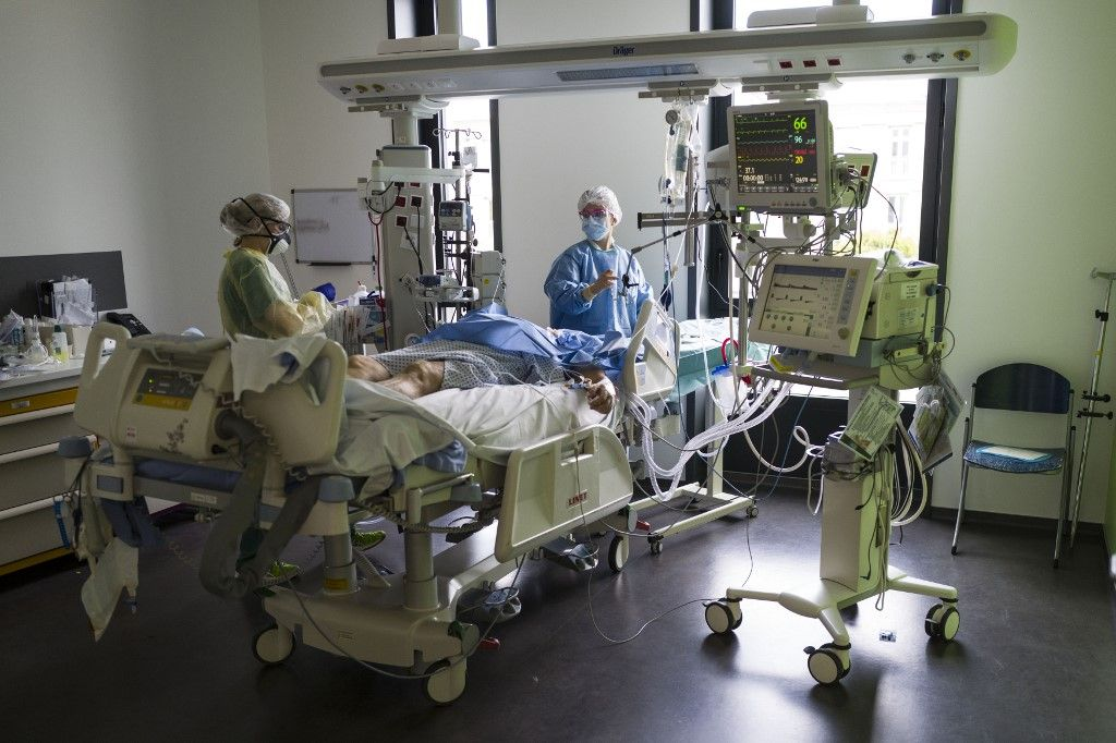 lits de réanimation hôpitaux coronavirus covid-19