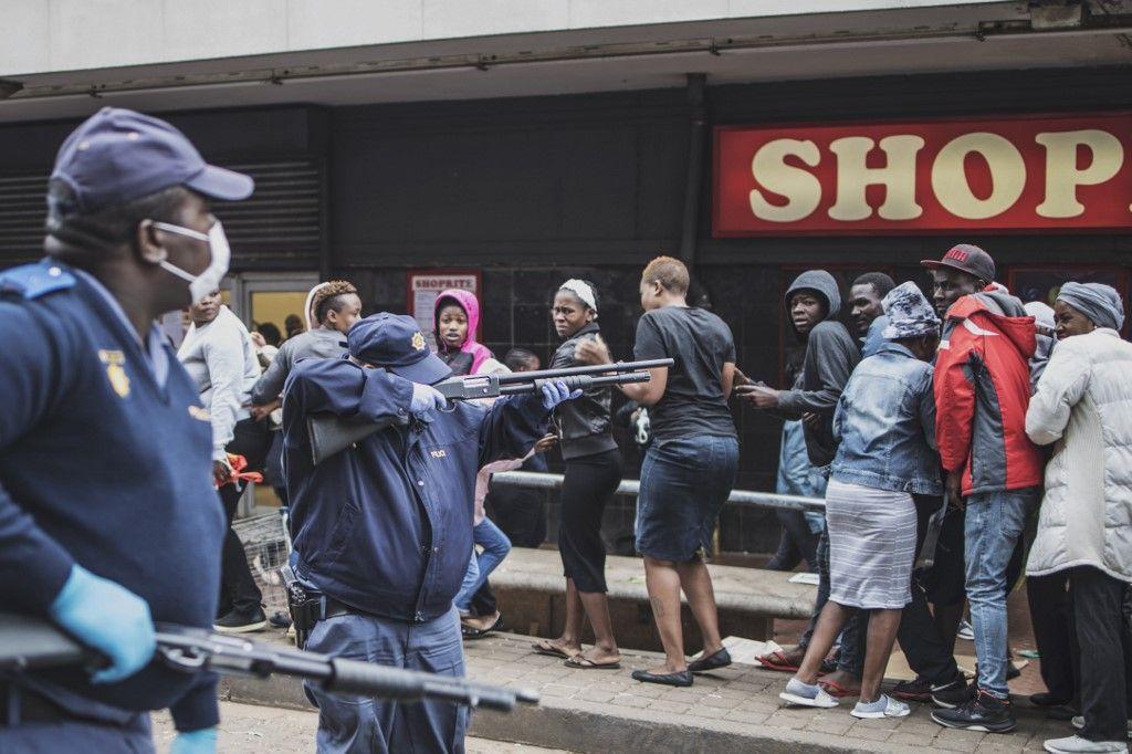 Coronavirus : où l'on apprend qu'en Afrique du Sud les heures les plus sombres de l'apartheid sont revenues…