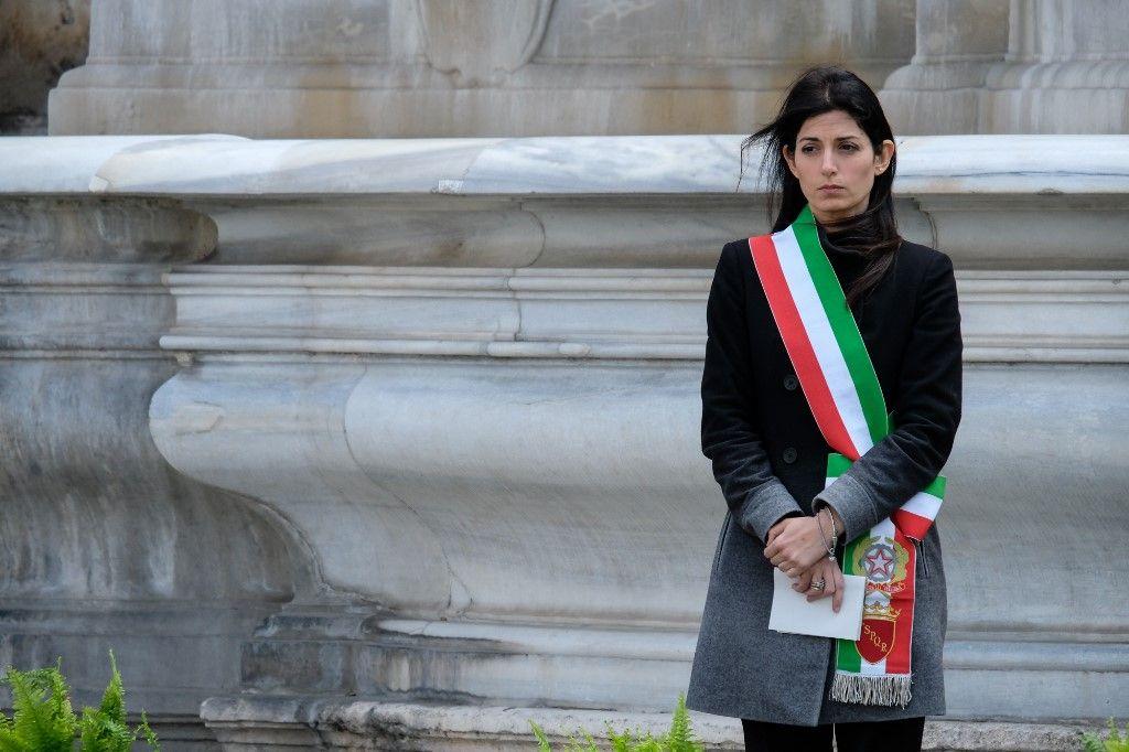 Virginia Raggi maire de Rome Italie