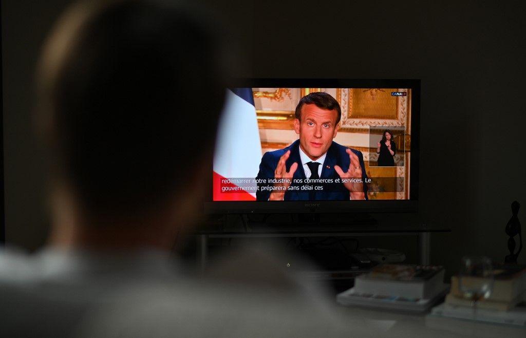 Emmanuel Macron allocution discours coronavirus covid-19