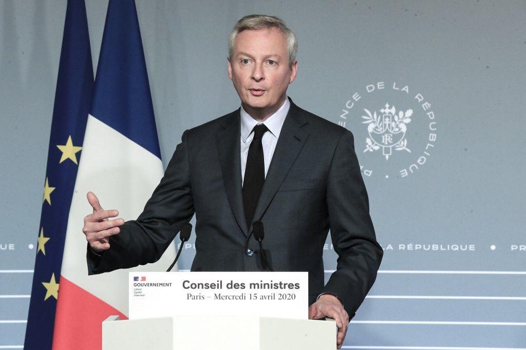 Bruno Le Maire ministre d el'éocnomie relance entreprises salaires