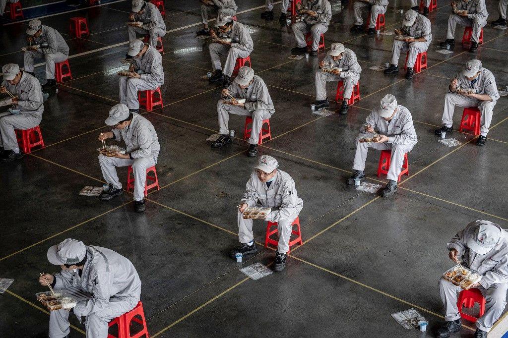 Bienvenue dans le cauchemar dystopique de la vie à Wuhan post déconfinement