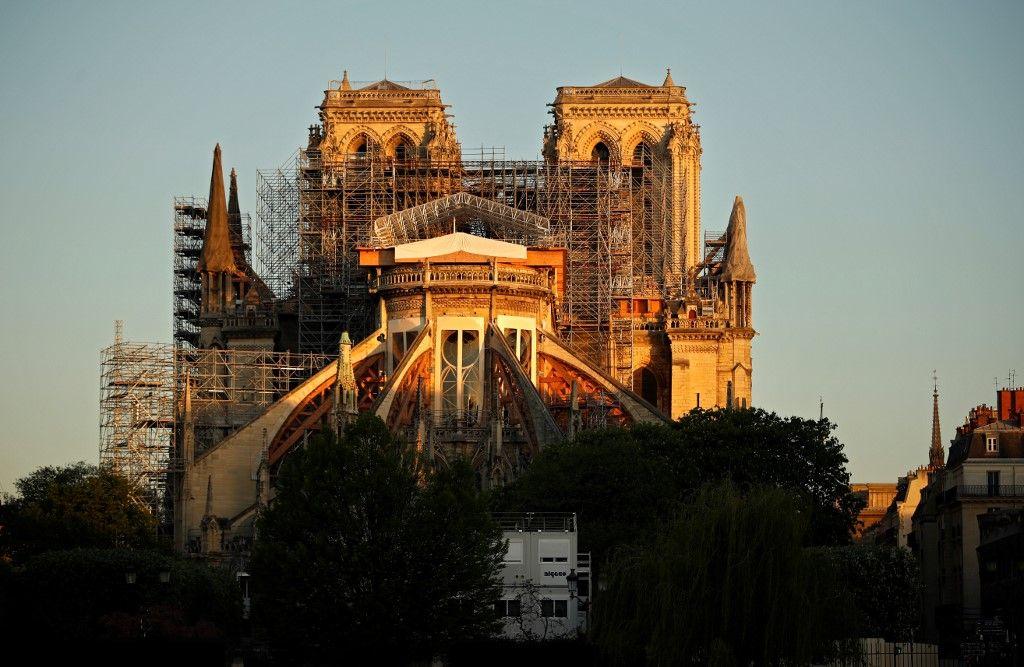 Le chantier de Notre-Dame de Paris va redémarrer à partir du lundi 27 avril