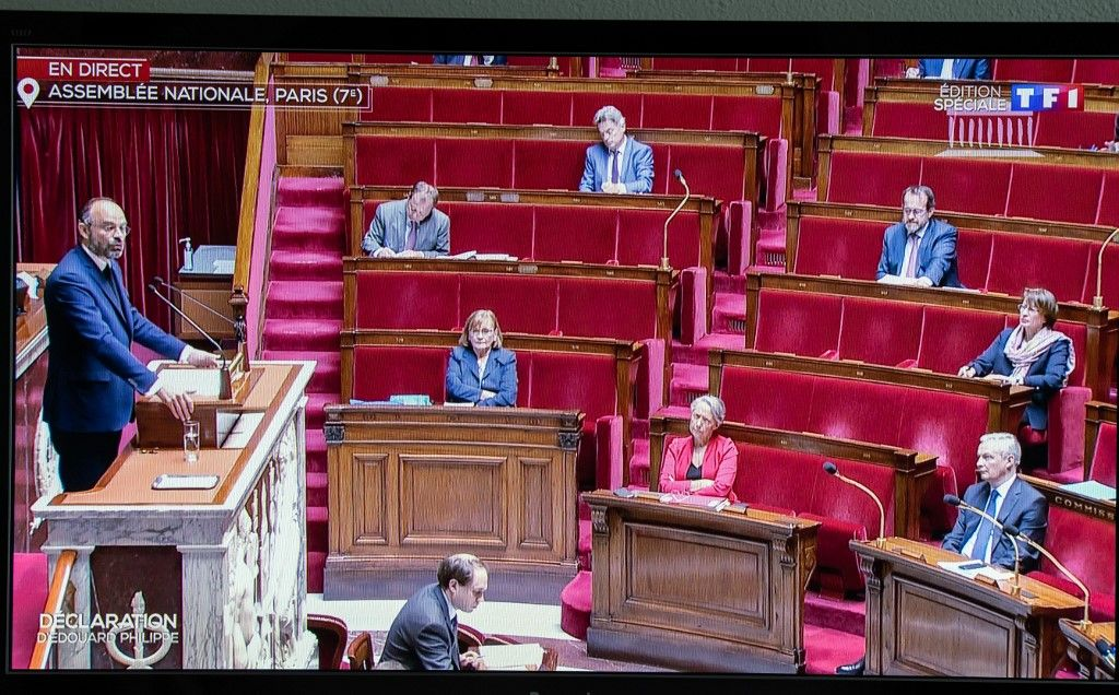 L'Assemblée nationale adopte le plan de déconfinement du gouvernement après le discours d'Edouard Philippe