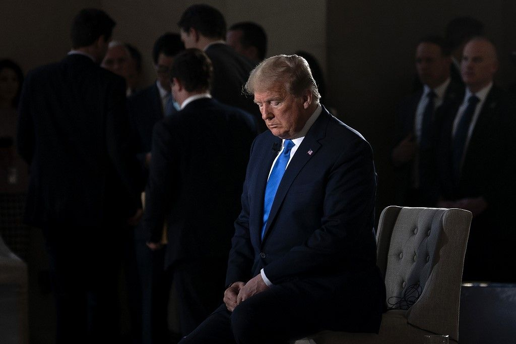 Trump résiste dans l'électorat républicain malgré ses dérapages