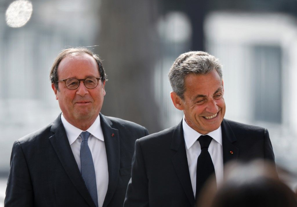 Nicolas Sarkozy François Hollande