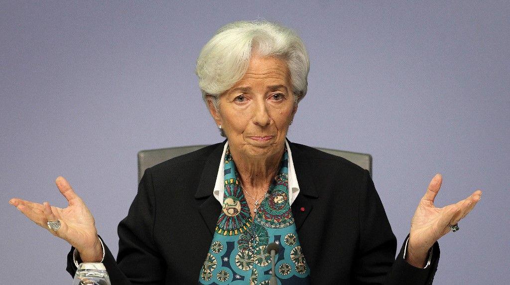 La BCE prévoit une chute de 8,7% du PIB de la zone euro en 2020