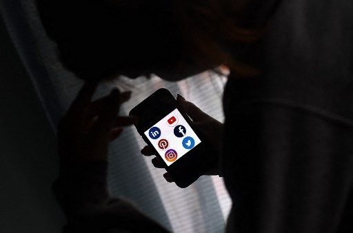 Illustration montrant les logos des principaux réseaux sociaux.