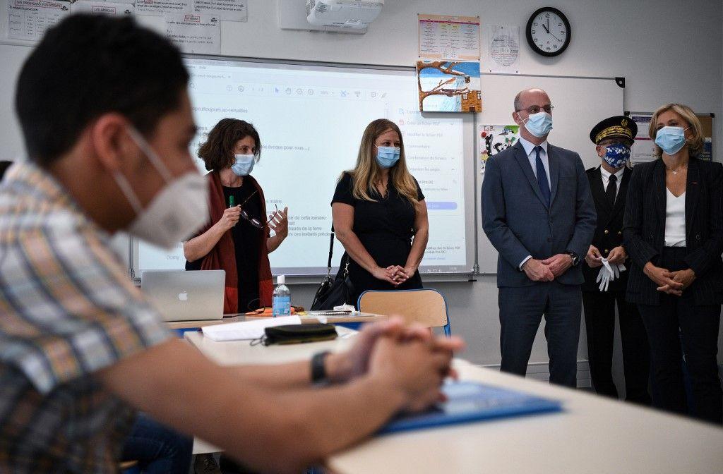 rentrée scolaire Jean-Michel Blanquer masque coronavirus covid-19 virus pandémie mesures crise sanitaire risques