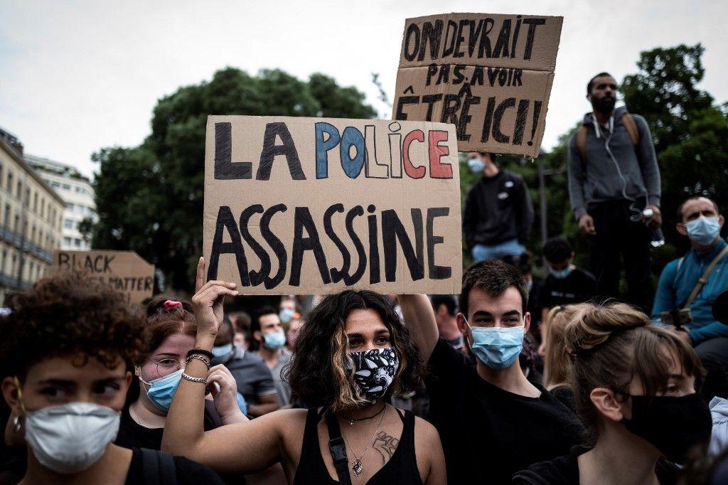 violences policières manifestations Adama Traoré