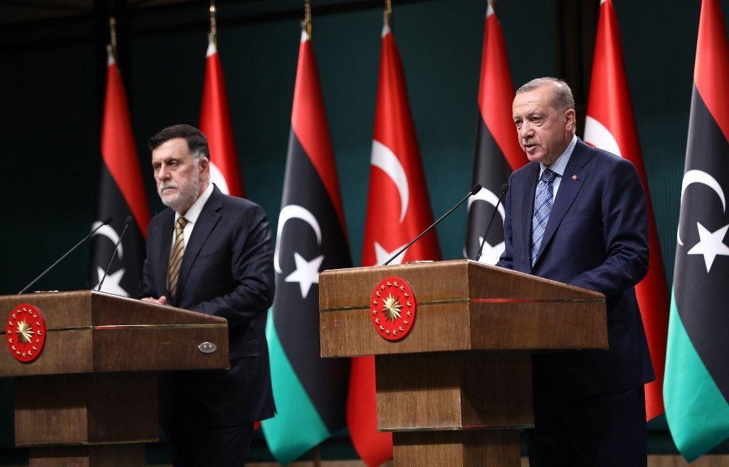 Recep Tayyip Erdogan Libye crise