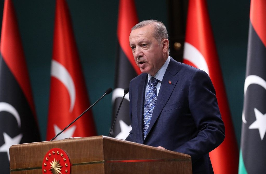 Recep Tayyip Erdogan Turquie Arménie Azerbaïdjan Haut Karabakh