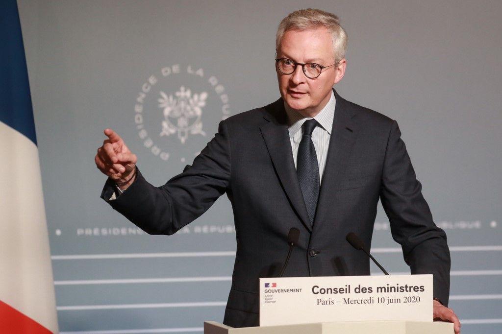 Covid-19 : Bruno Le Maire anticipe la suppression de 800.000 emplois en France