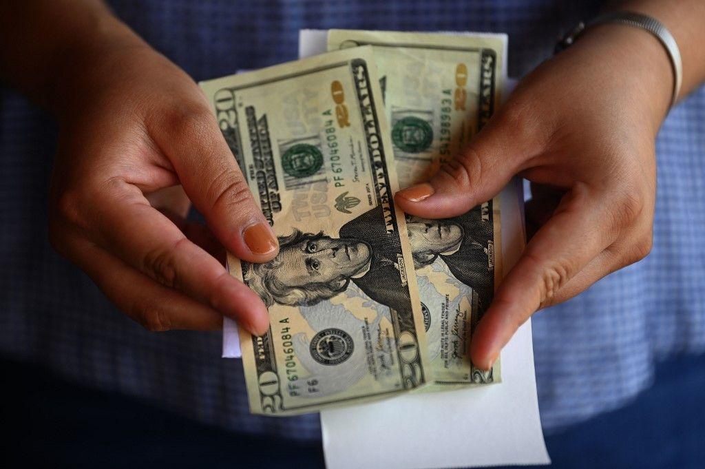 dollar argent billets