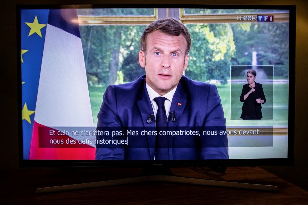 Emmanuel Macron va parler ce mercredi 14 octobre