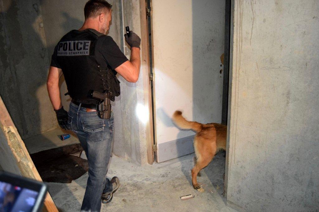 Violences à Dijon : neuf personnes ont été interpellées pour détention d'armes et de stupéfiants
