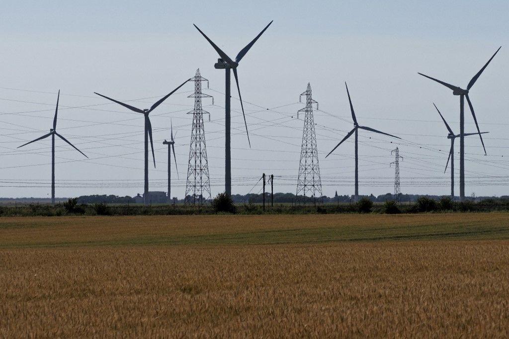 éoliennes industrie environnement énergie