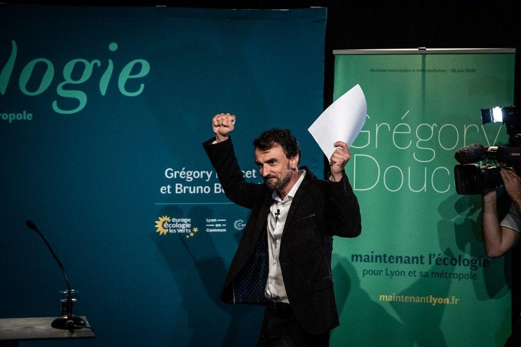 Grégory Doucet Lyon élections municipales juin 2020