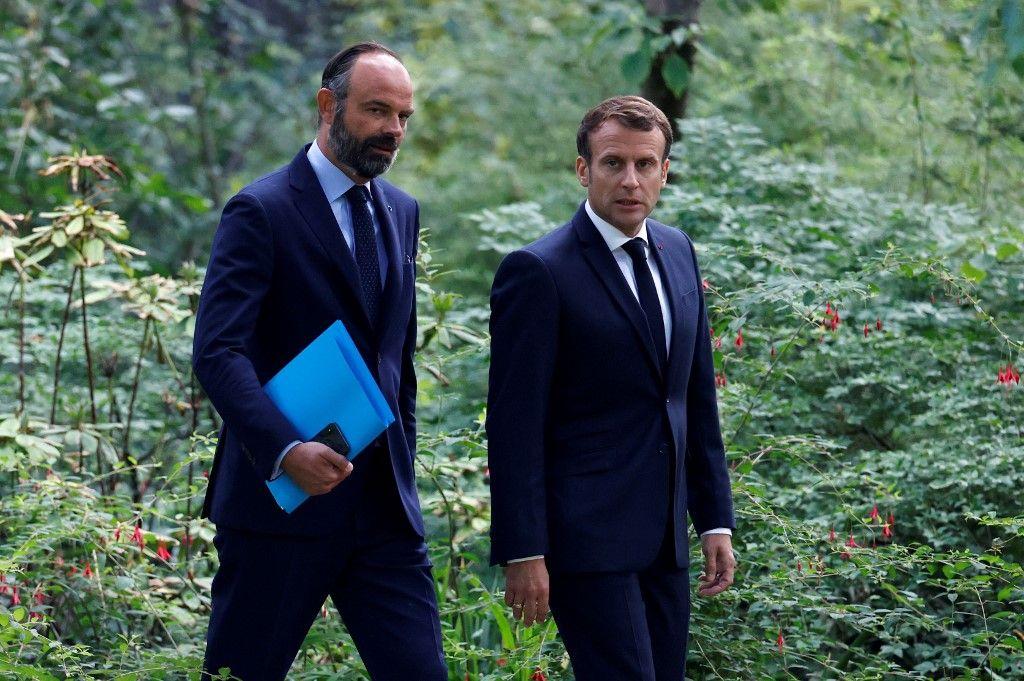 Emmanuel Macron va décorer Edouard Philippe de la Légion d'honneur lors d'une future visite au Havre