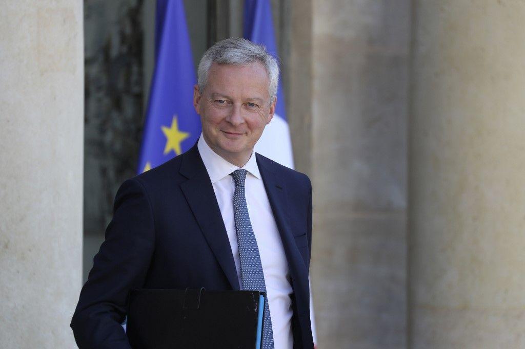 Bruno Le Maire plan de relance activité france crise économique coronavirus covid-19