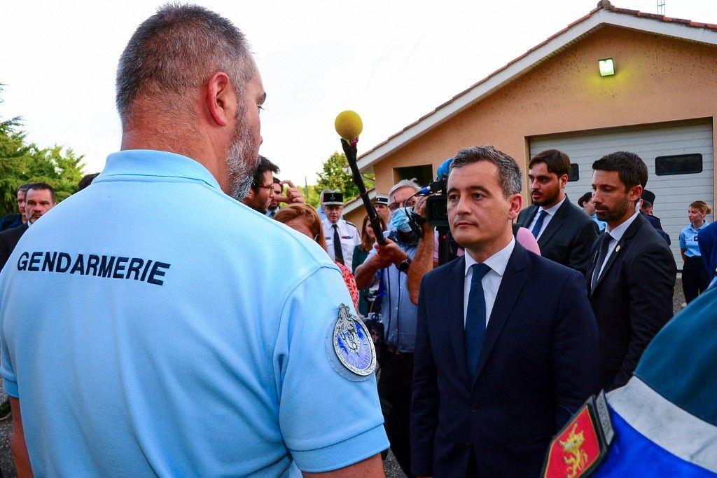 Gérald Darmanin ministre de l'intérieur gendarmes