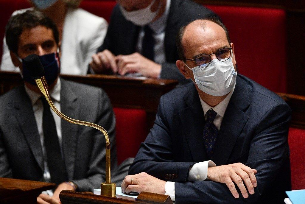 Jean Castex masque assemblée nationale