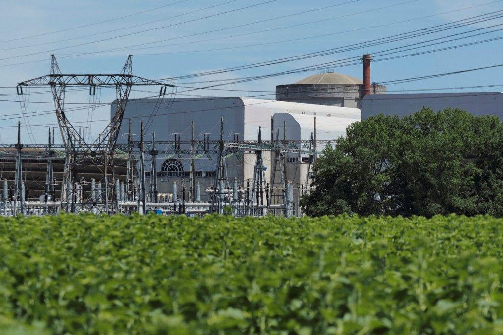 La centrale nucléaire de Chinon, le 8 juillet 2020 à Avoine, dans le centre de la France.