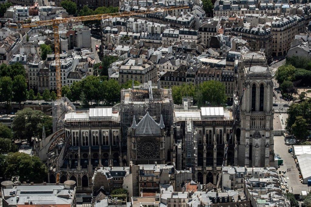 C'est officiel : la flèche de Notre-Dame de Paris sera reconstruite à l'identique