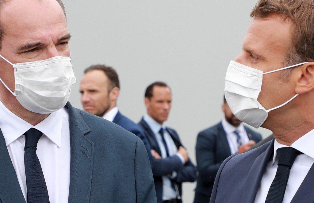 Jean Castex Emmanuel Macron gestion de la crise du coronavirus centralisation administration