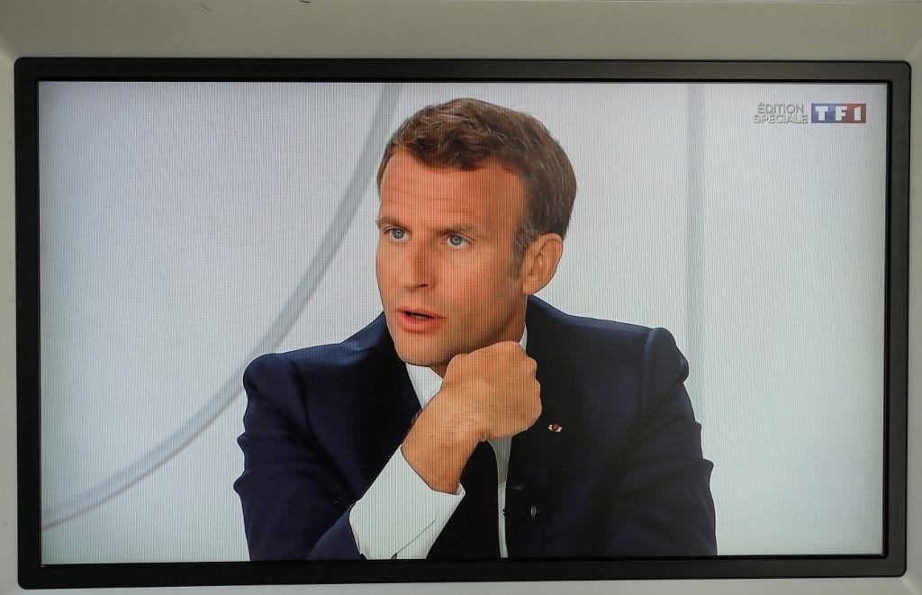 Emmanuel Macron interview 14 juillet
