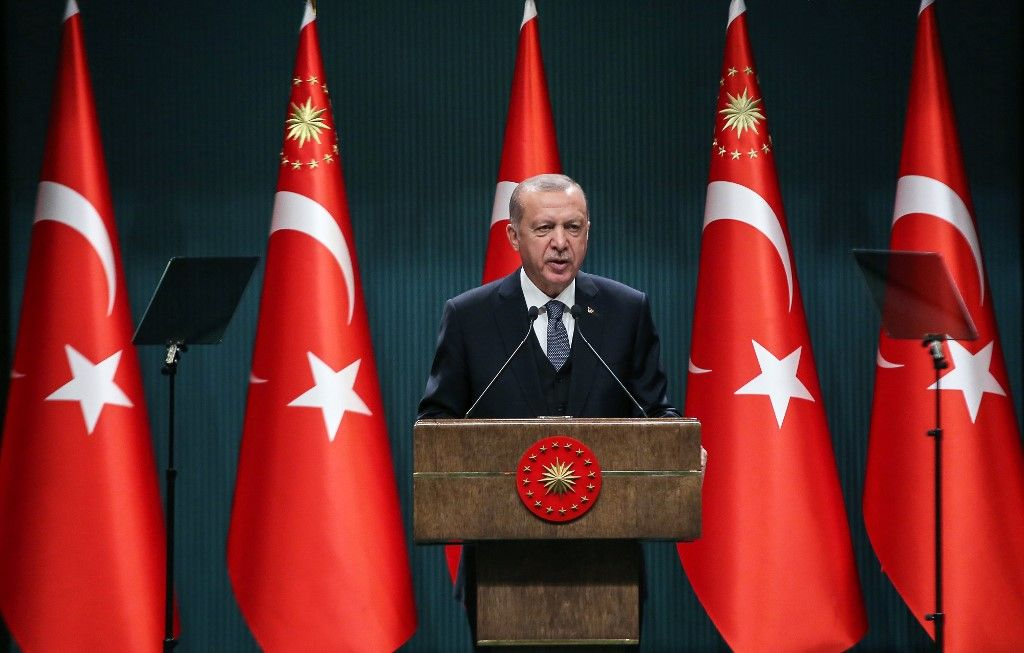 Recep Tayyip Erdogan Turquie Méditerranée Europe Union européenne