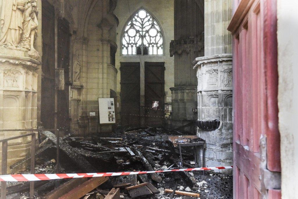 Incendie de la cathédrale de Nantes : c'est peut être Lucifer qui a mis le feu ?