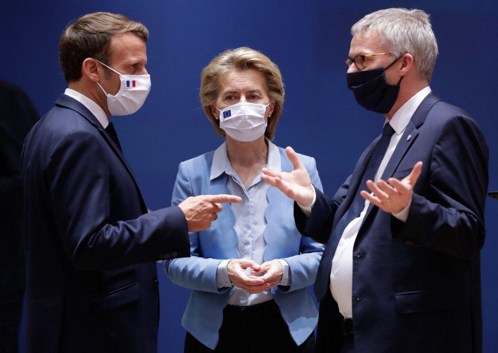 Emmanuel Macron Europe décisions choix avenir traitement covid-19 coronavirus