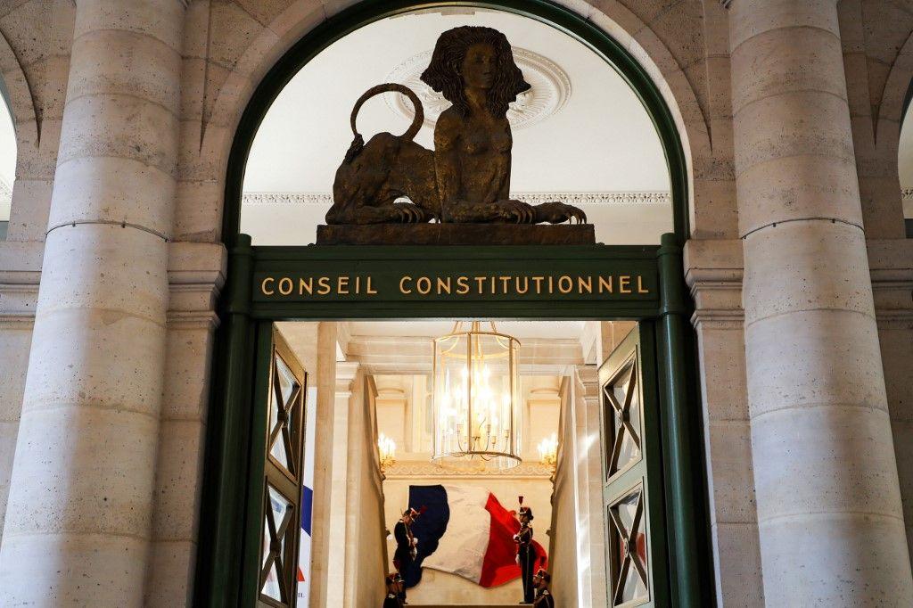 Une vue du Conseil constitutionnel.