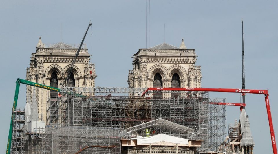 Notre-Dame de Paris : plongée au coeur du chantier de restauration