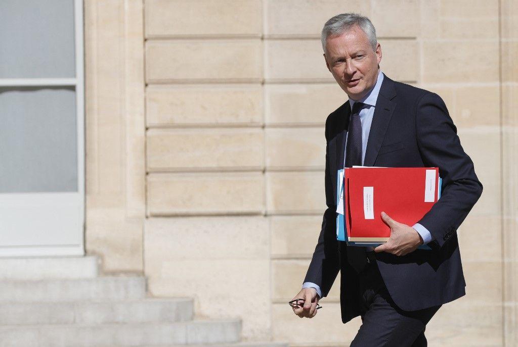 Bruno Le Maire ministre de l'économie relance PIB chute historique
