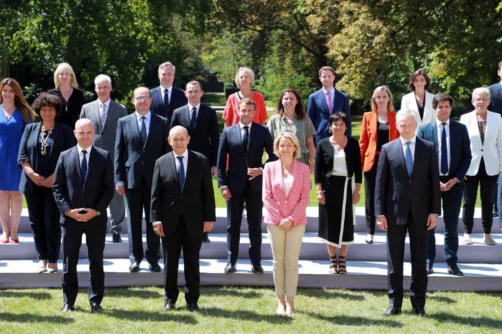 gouvernement ministres secrétaires d'Etat remaniement Jean Castex Emmanuel Macron photographie officielle