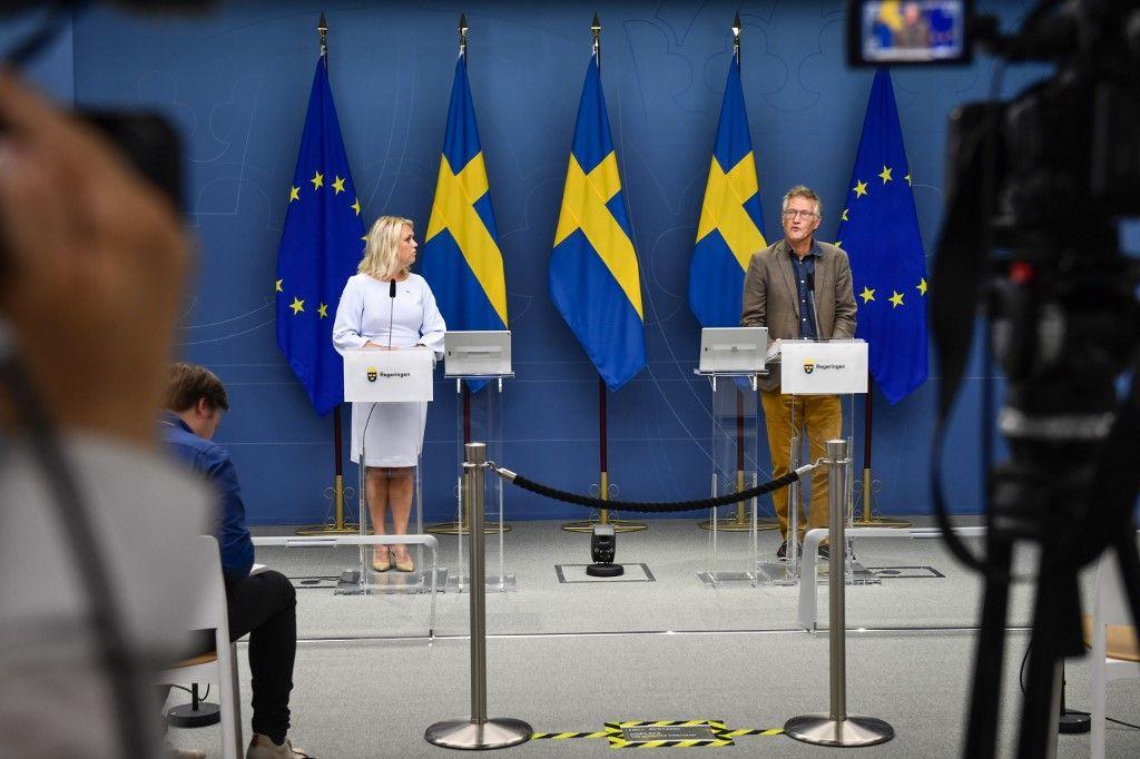 Suède coronavirus santé ministres
