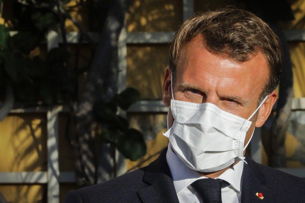 Emmanuel Macron confinement coronavirus covid-19 stratégie
